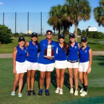 Girls Golf Dist Champs
