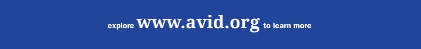 avid.org banner